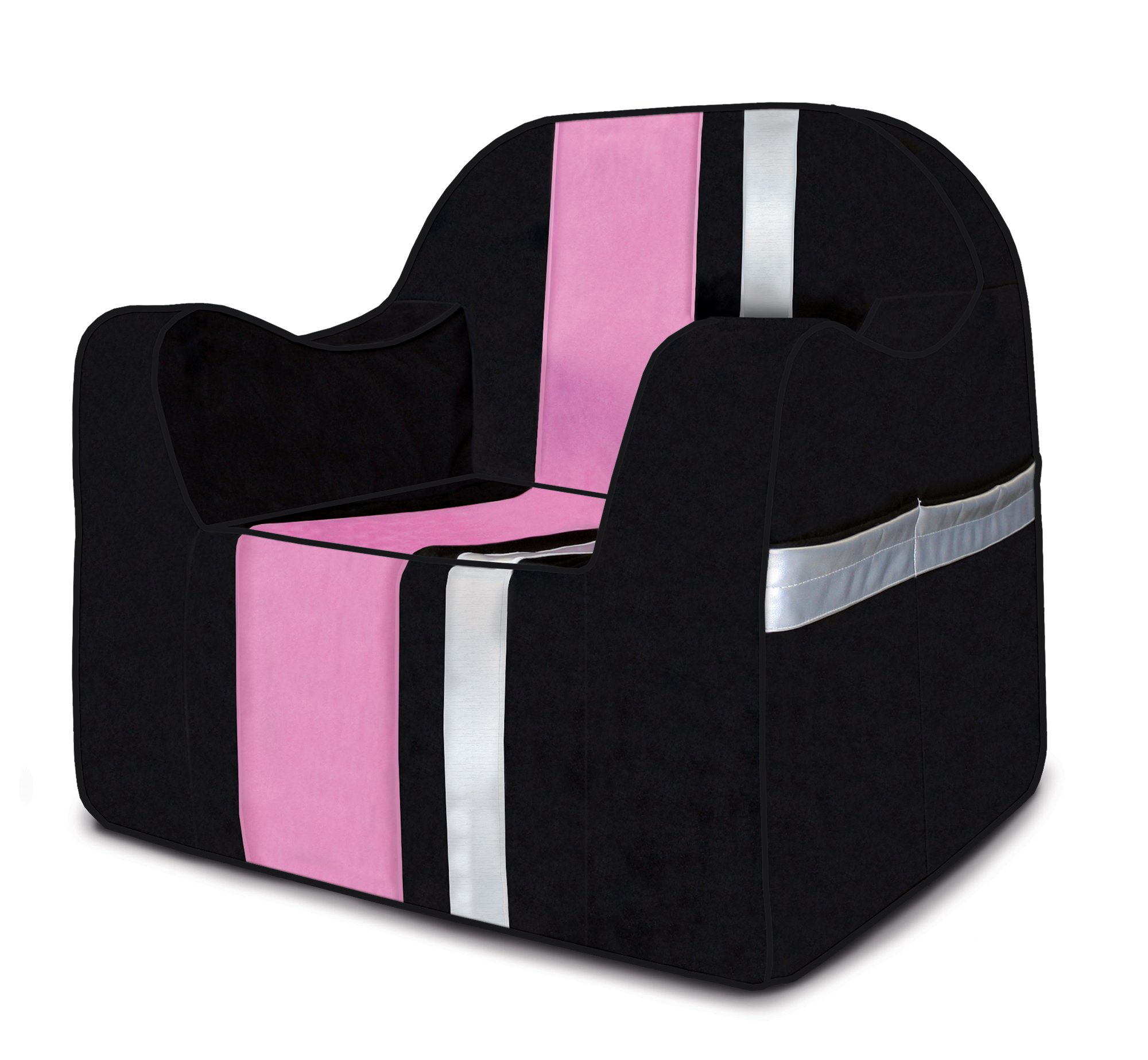 Reader Children's Chair - Skateboard with Pink & Silver