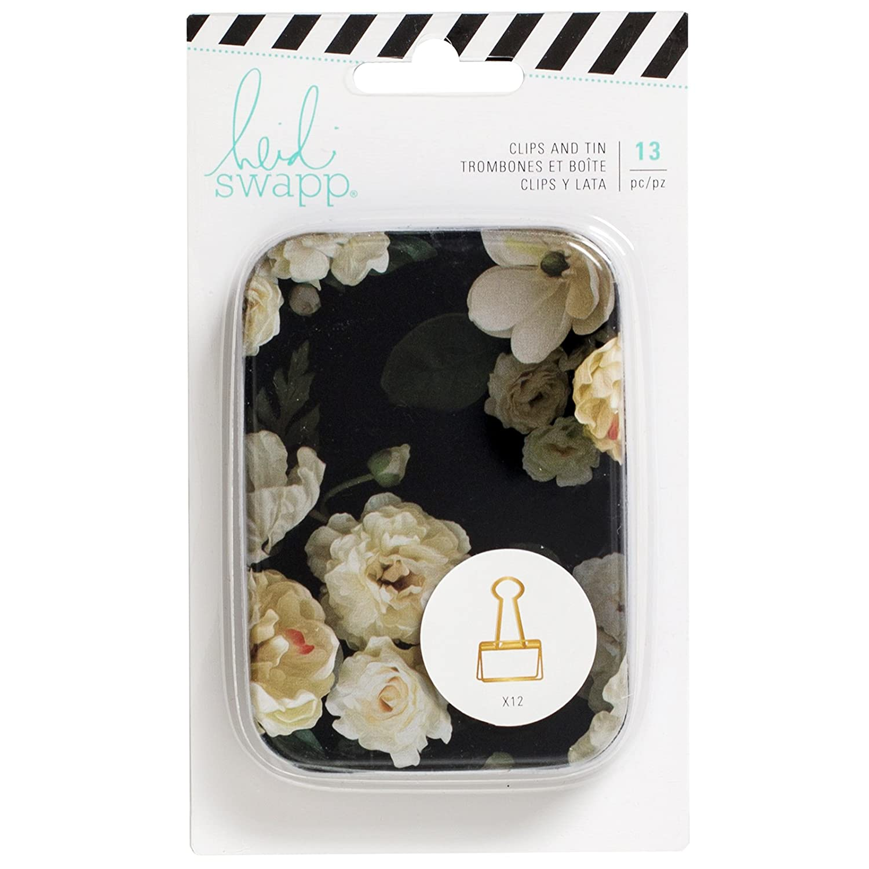 Heidi Swapp American Crafts Lata Clips Magnolia Jane