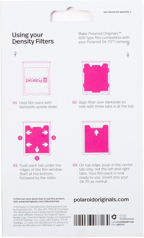 Polaroid Originales ND Filtro Doble Pack, Negro (4741): Amazon.es ...