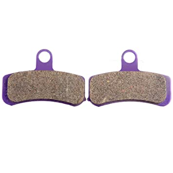 OCPTY Carbon Fiber Brake Pads Fit for 2008 2009 2010 2011 2012 2013 2014 Harley-Davidson Dyna Super Glide Custom FXDC