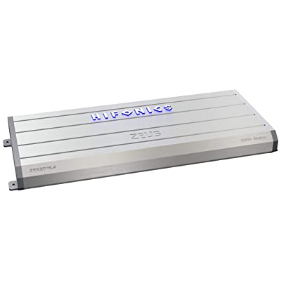 Hifonics ZRX2016.4 Zeus Car Audio Amplifier, 4-Channel 2000-Watt,silver: Car Electronics