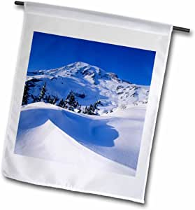 Danita Delimont - Mountains - WA, Mt Rainier NP near Glacier Vista, Mountain - US48 JWI1872 - Jamie and Judy Wild - 18 x 27 inch Garden Flag (fl_96083_2)