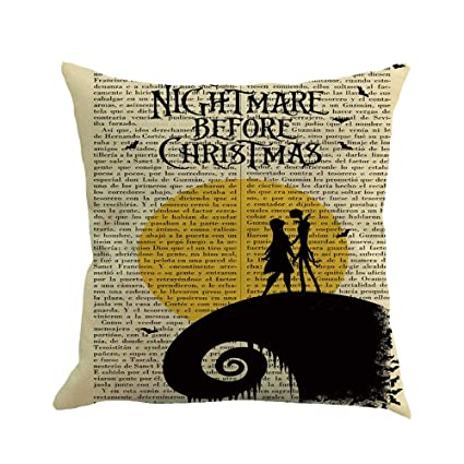 Lowprofile Printed Sofa Mat Happy Halloween 45Cmx45Cm Pillowcase Happy Fall Yall Linen Sofa Cushion Cover 18