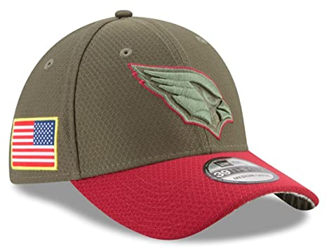 19a8fb847 Arizona Cardinals New Era NFL 39THIRTY 2017 Sideline  quot Salute to  Service quot  ...