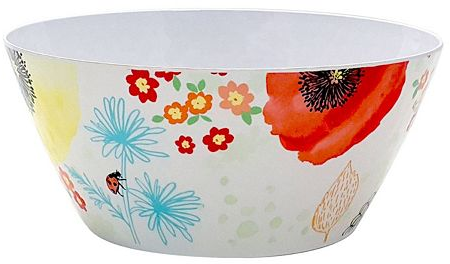 Celebrate Spring Together Floral Serving Bowl