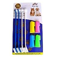 RosyLife Pet Dog Soft Toothbrush Dog Toothbrush Finger Toothbrush pet Toothbrush Small to Large Dogs
