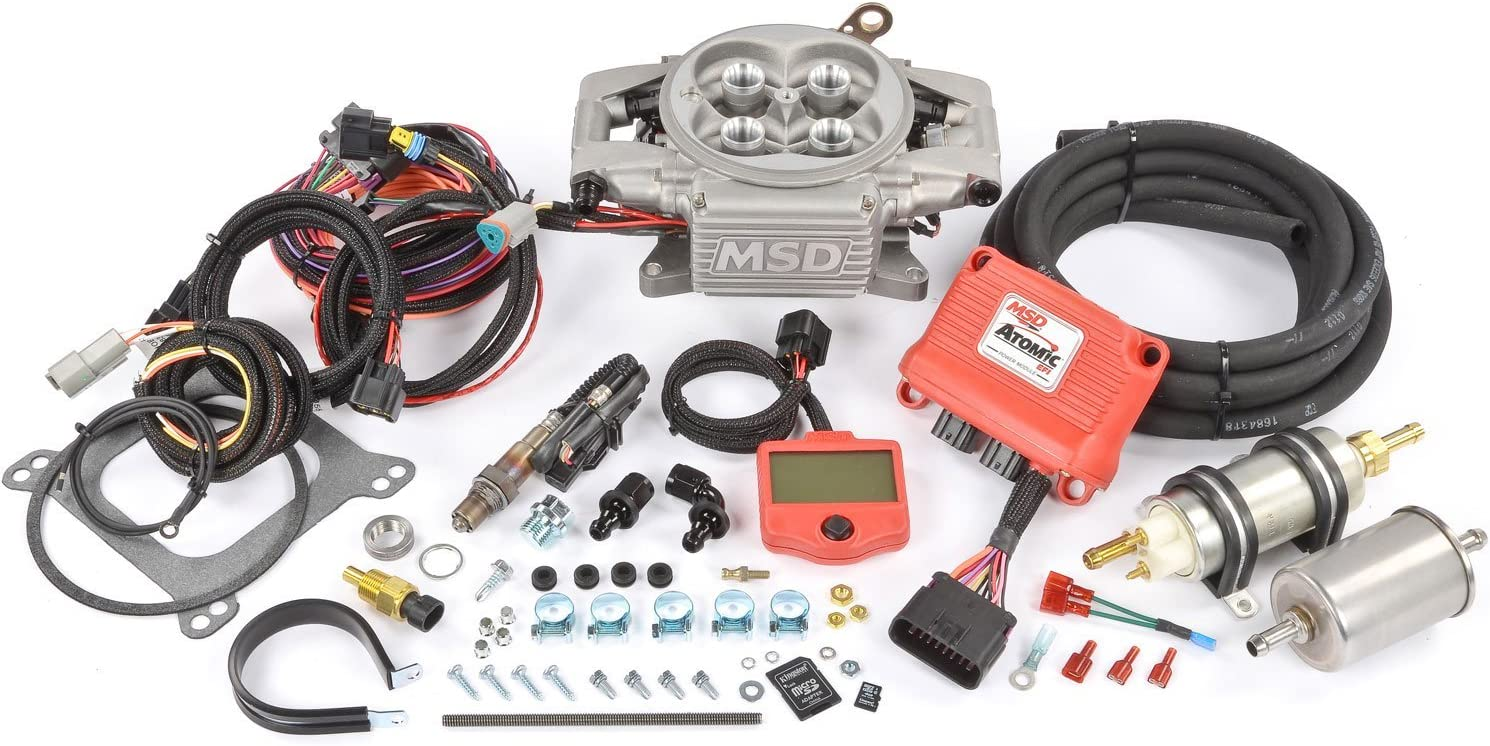 MSD 2900 Atomic EFI Master Kit}