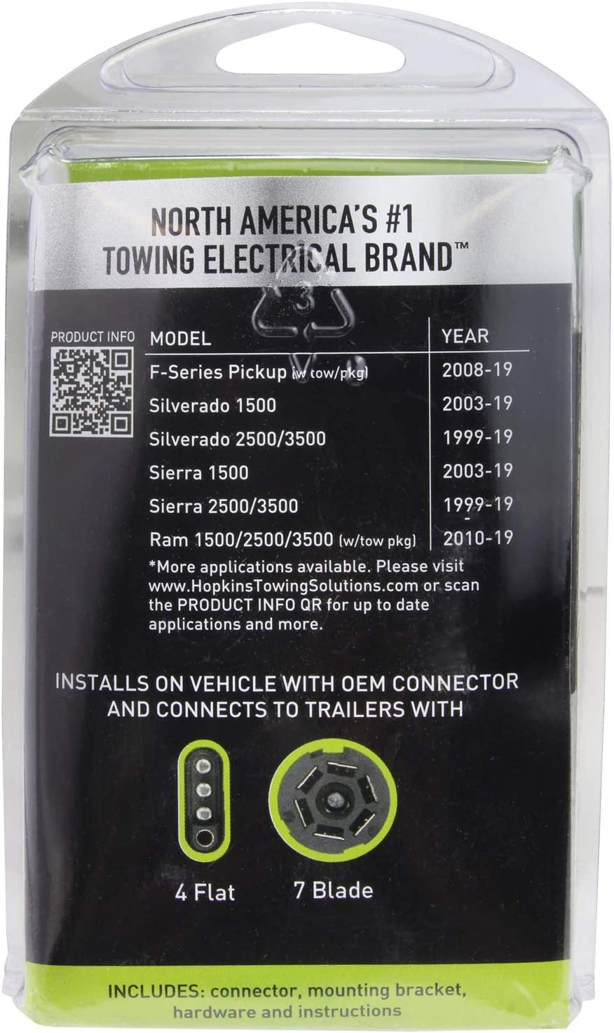 Amazon Com Hopkins 40955 Multi Tow T Connector Wiring Kit Automotive