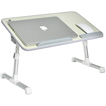 Amazoncom Portable Adjustable Variable Height Laptop StandDesk