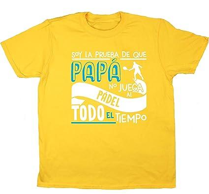 HippoWarehouse Soy La Prueba de Que Papá No Juega al Pádel Todo El Tiempo camiseta manga corta niños niñas unisex: Amazon.es: Ropa y accesorios