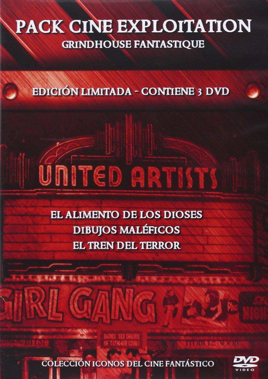 EXPLOITATION GRINDHOUSE FANTASTIQUE (PACK 3 DVD): Amazon.es: Cine ...