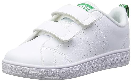 newest collection 38deb 4ca07 adidas Vs ADV Cl Cmf Inf, Scarpe da Ginnastica Basse Unisex-Bambini, Bianco