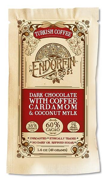 Café turco – Dark Chocolate Bar w/Café, Cardamom, & Coco ...