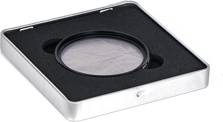 Meco MC CPL Filter Polfilter zirkular Polarisationsfilter Slim 16-Schichten-Multi-Resistant Multi Coated aus Schott Glas,82MM