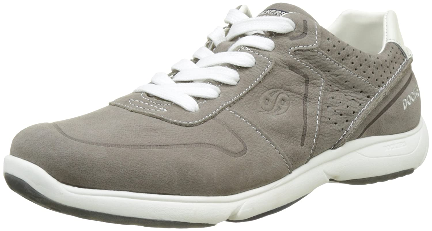 Mens 40ml011-300200 Low-Top Sneakers, Grey, 7 UK Dockers by Gerli