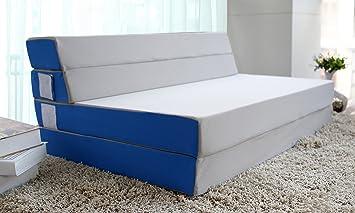 Merax Tri Fold Foam Folding Mattress And Sofa Bed For Guests Floor Mat (Twin