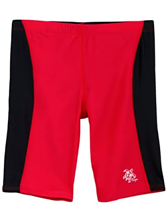 e08be140e5 Amazon.com: Tuga Boys Jammer Swim Short 2-14 Years, UPF 50+ Sun Protection  Swim Bottom: Athletic Swim Jammers: Clothing
