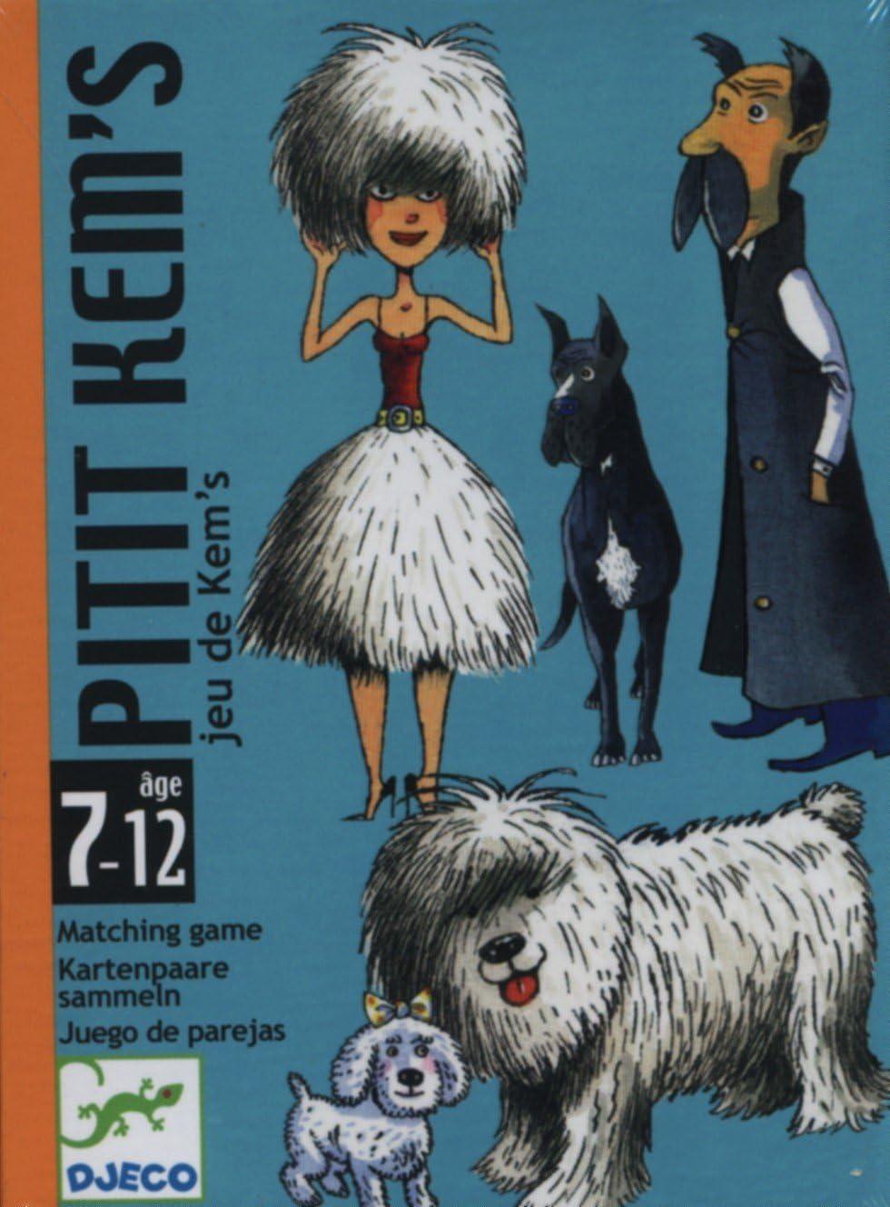 DJECO- Juegos Hacer Parejas Cartas Pitit Kems, Multicolor (36): Amazon.es: Juguetes y juegos