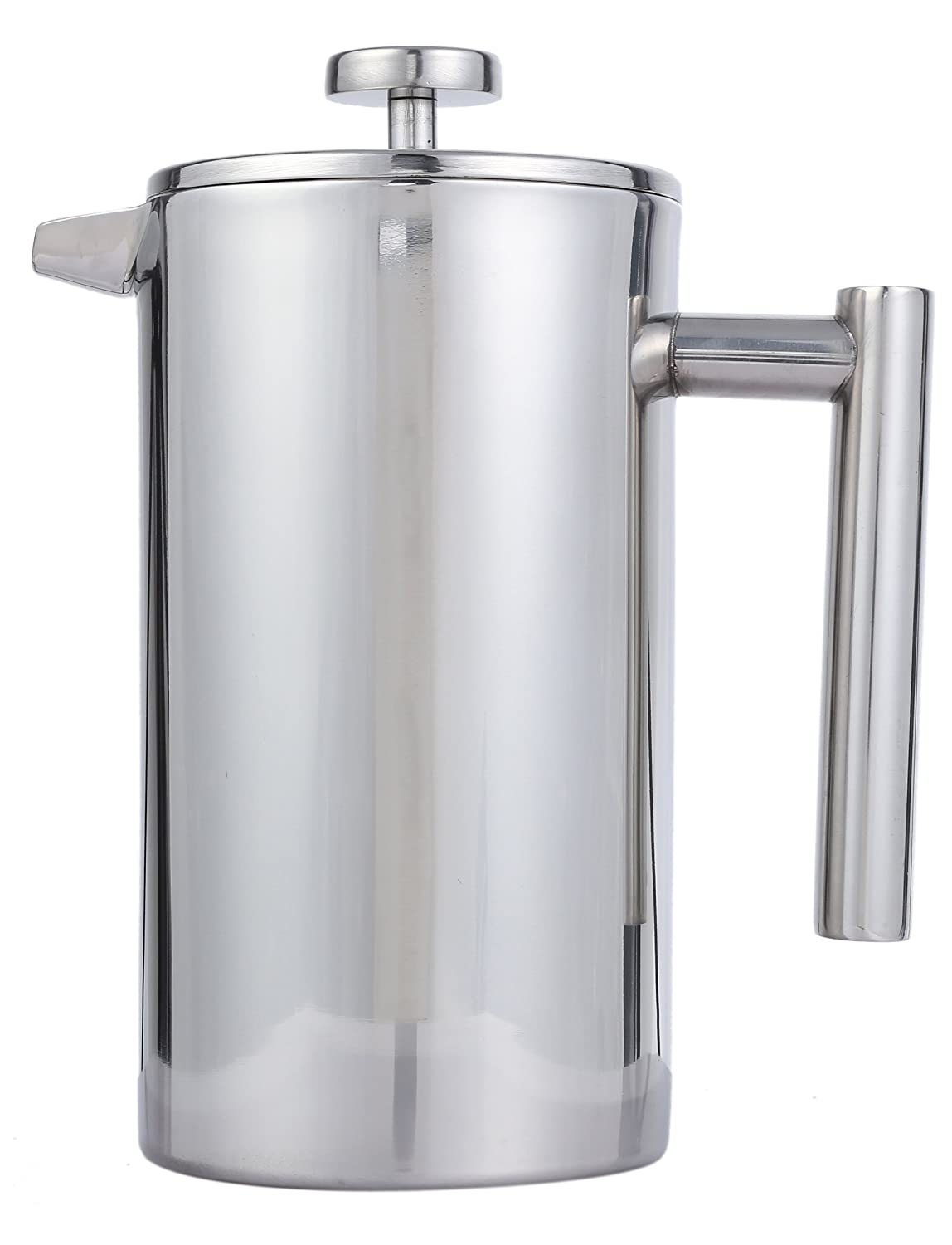 Palm French Press Coffee Maker : French Press Coffee Pot & Tea Maker Set (Cafetiere)- Stainless Steel -... eBay