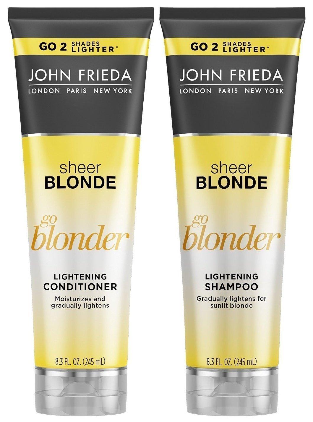 john frieda sheer blonde go blonder controlled lightening spray 3 5 ounce health. Black Bedroom Furniture Sets. Home Design Ideas