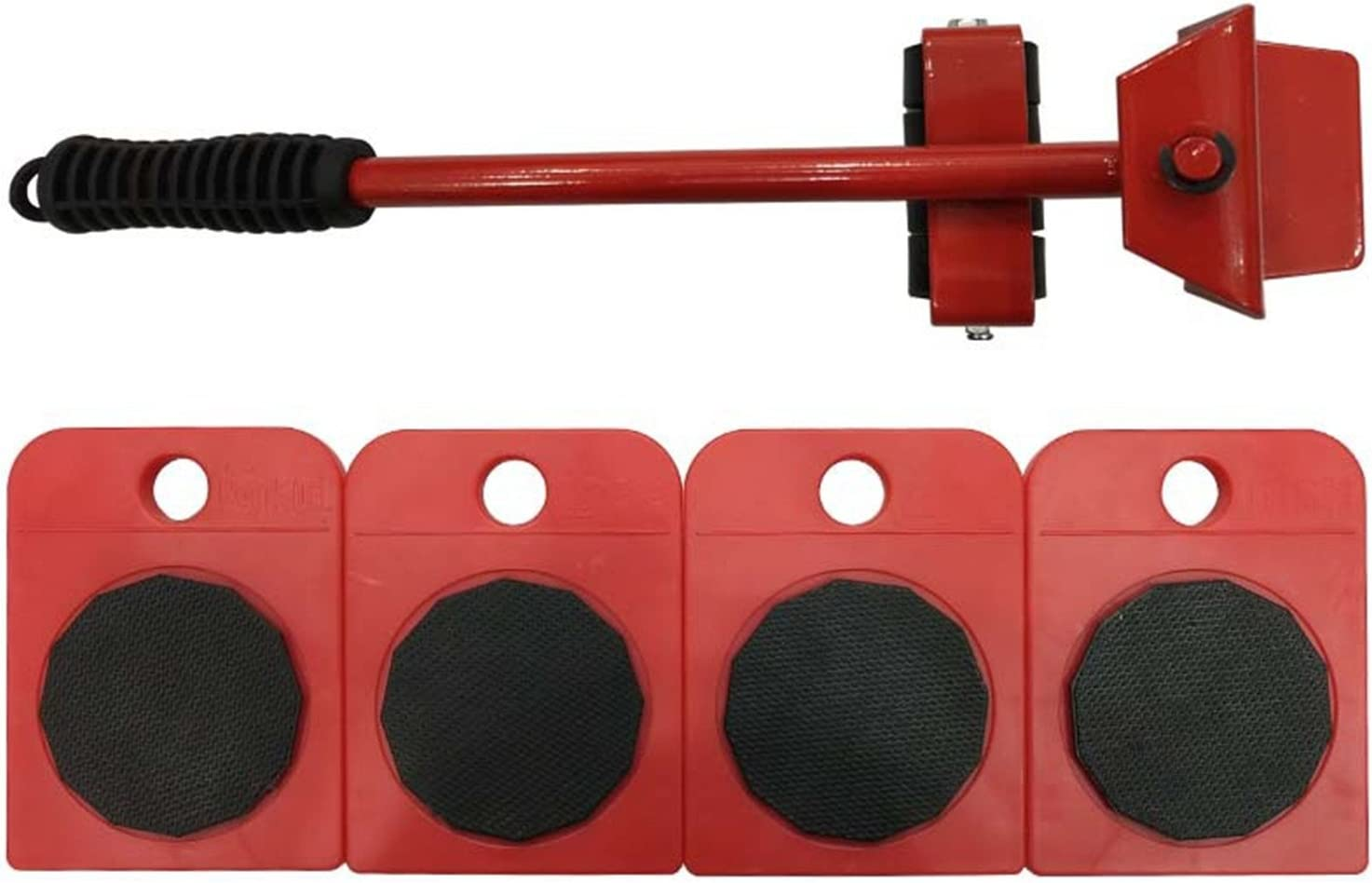 UBEI Furniture Lifter Portable Heavy Lifting Device Furniture Moving Device Mover Transport Set for Home Red