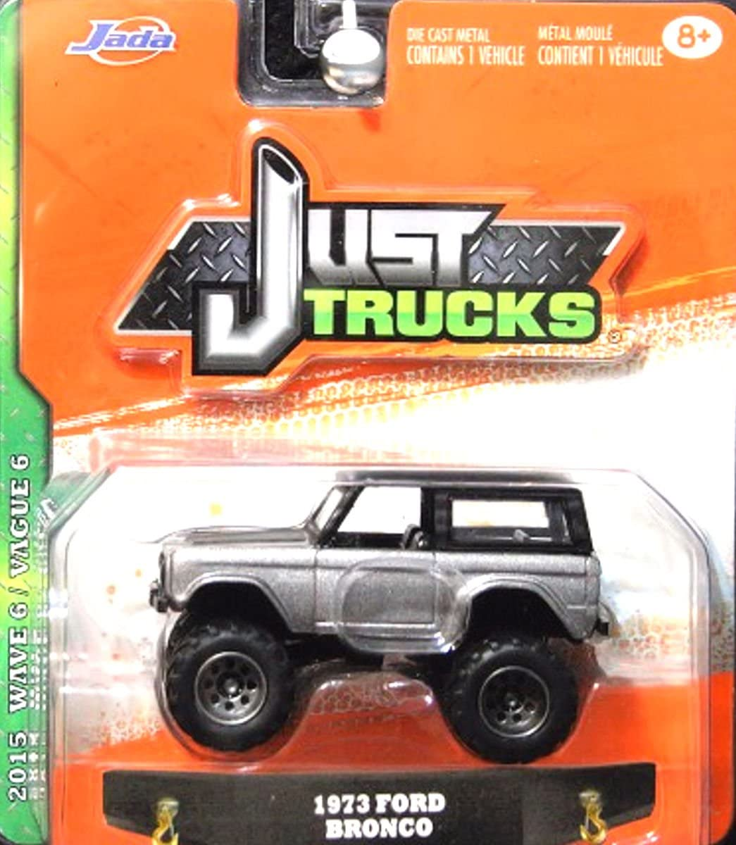 1973 73 FORD BRONCO 4X4 OFF ROAD RARE 1:64 SCALE COLLECTIBLE DIECAST MODEL CAR