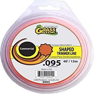 Grass Gator 3095 .095-Inch-by-40-Foot String Trimmer Line