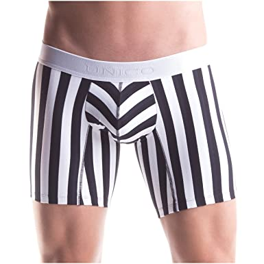 Mundo Unico Men Colombian Stripes Cotton Mid Boxers Briefs Calzoncillos BYN S
