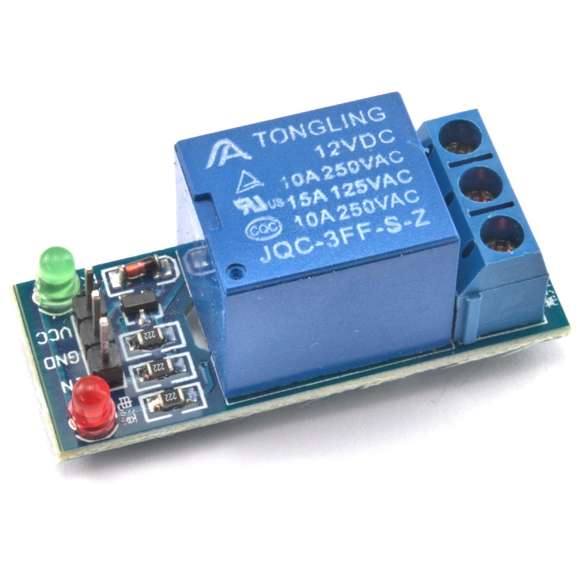 Umtmedia 5v Or 12v 1 2 4 8 16 Channel Relay Module Board For Dc5v To Dc30v Converter By 74hc14 Arduino Raspberry Pi Arm Avr Dsp Pic Computers Accessories