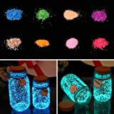 10g Luminous Sand Fish Tank Aquarium Star Bottle Making Glow Powder