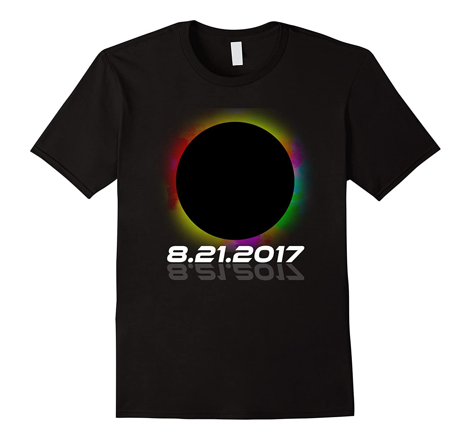 2017 Total Solar Eclipse August 21st Multiple Color T Shirt-Art