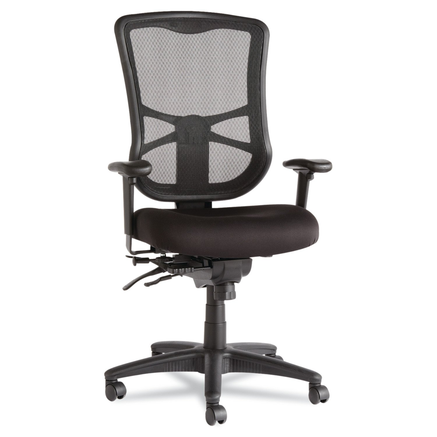 Alera ALEEL41ME10B Elusion Series Mesh High-Back Multifunction Chair
