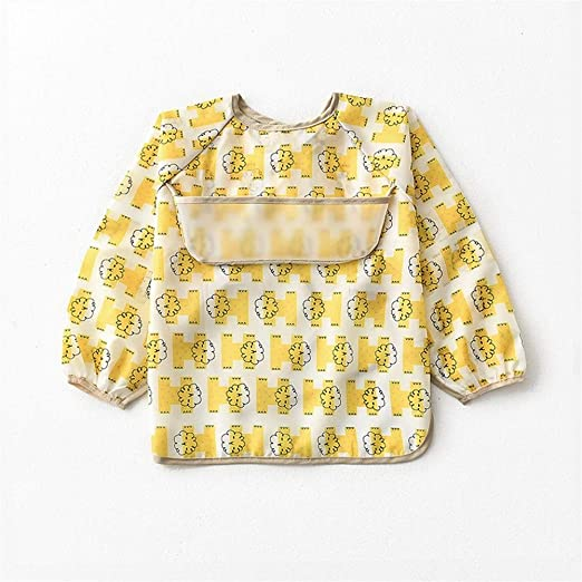 FeiFei156 Comer bebé Vestido Baberos Impermeables del bebé Anti ...