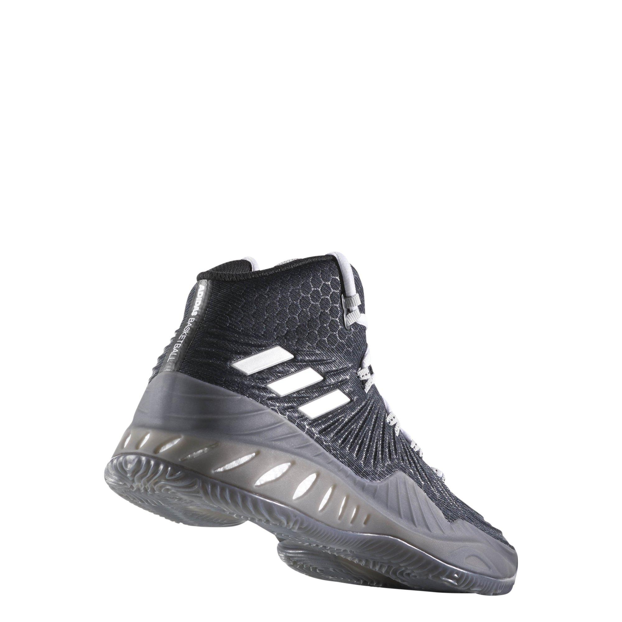 3c89a910310e Galleon - Adidas Men s Crazy Explosive 2017 Core Black Silver 11 D US D (M)