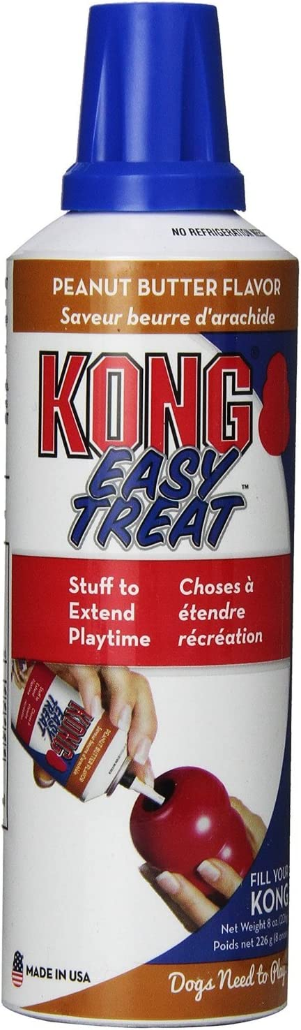 KONG Stuff N Easy Treat Paste Flavor Peanut Butter Pack of 2