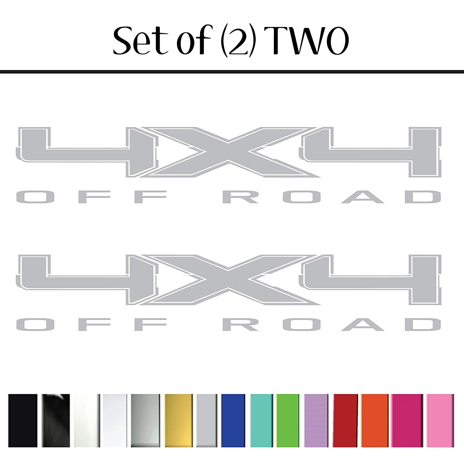 Style 18 Replacement for Dodge Trucks 4x4 Off Road replacement Bedside Vinyl Graphic Decals