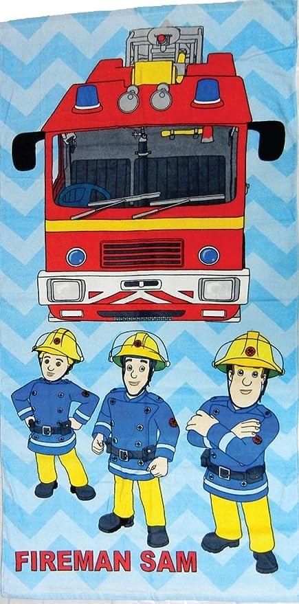 "Oficial de Sam el bombero ""3 bomberos"" toalla - merchandising oficial ..."