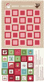 Lewis and Irene Hygge Red Advent Calendar Sewing Kit 2018