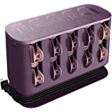 Remington H9100S T-Studio Thermaluxe Ceramic Hair Setter, Hair Rollers, 1-1 ¼ Inch, Purple