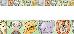 Creative Teaching Press Safari Friends Bulletin Board Boarder/Trimmer (Accent Bulletin Boards, Walls, Classrooms, Learning Spaces and More) (8337)