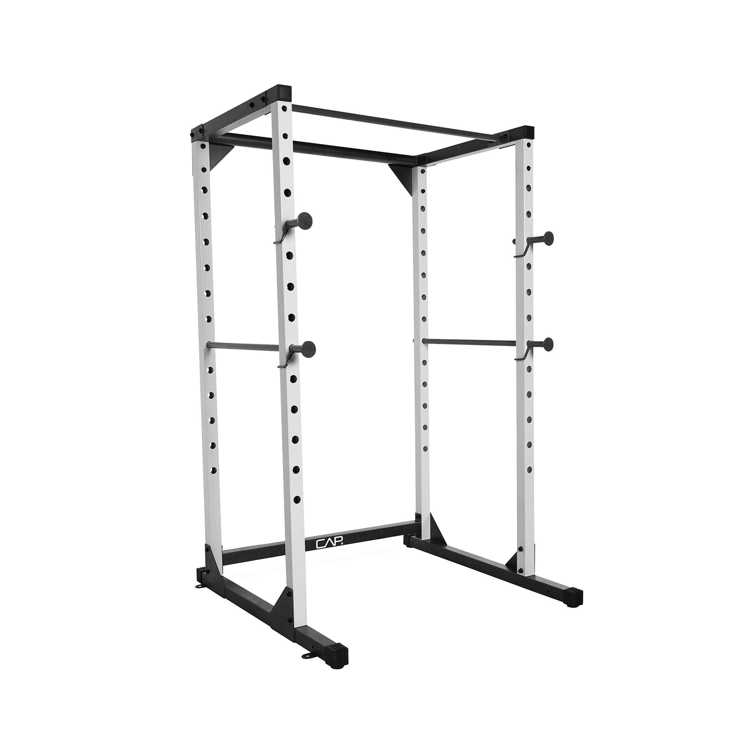 CAP Barbell Full Cage Power Rack, 6-Foot, White