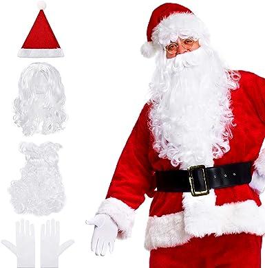 Santa Claus Sunglasses Festive Xmas Fancy Dress Costume Accessory Adult