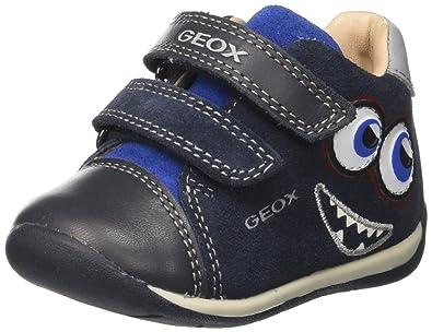 Baby Jungen B New Balu Boy B Sneaker, Blau (Navy/Red), 22 EU Geox