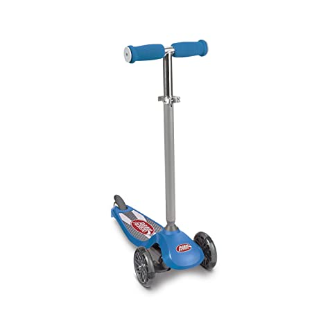 Radio Flyer Lean N Glide Scooter with Light Up Wheels Kids Scooters Blue