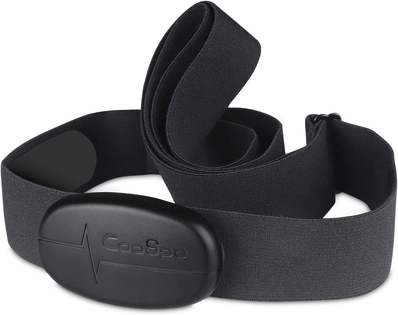 CooSpo Runttic Pro - Pulsómetro (Bluetooth 4.0, Sensor de frecuencia  cardíaca, IP67, Resistente al Agua, Compatible con Wahoo, Zwift, Polar Beat,  Elite HRV App): Amazon.es: Deportes y aire libre