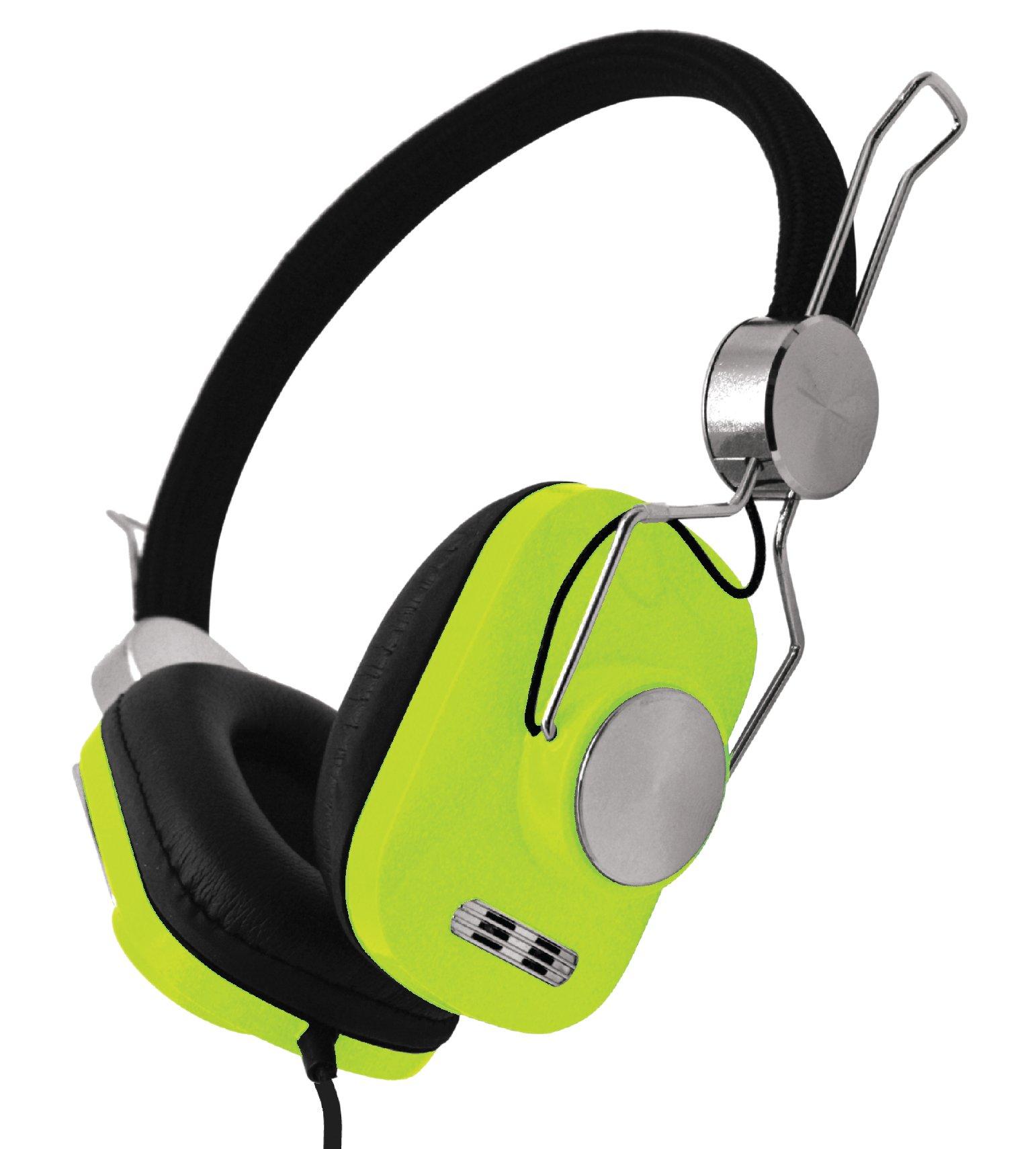 DGL VS-928-LIME Stereo Cube Headphones