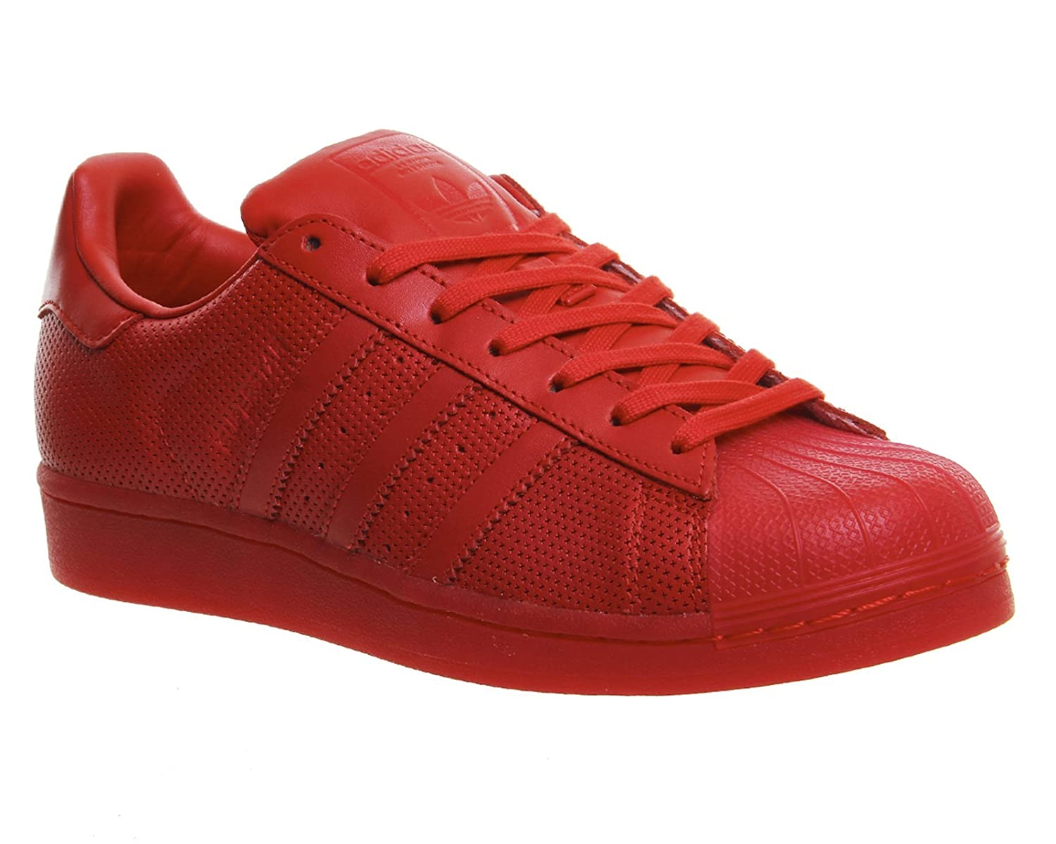 the best attitude 4090a 03ff9 adidas Mens Courtvantage Adicolor S80253 Trainers, Red, Size UK 9.5 adidas  Originals Amazon.co.uk Sports  Outdoors