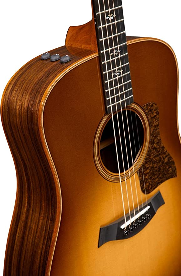 Guitarra electroacustica de 6 cuerdas Taylor 710e WSB Dreadnought ...