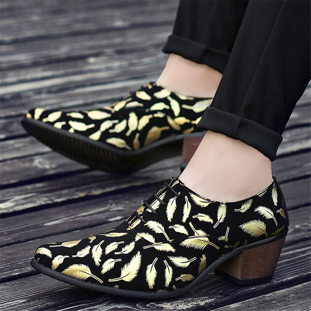 YAN Herren Formelle Schuhe Business 2018 Frühling Herbst Mikrofaser Business Schuhe Schuhe Spitz erhöhen Schuhe Büro & Karriere Kleid B 2c1ddc