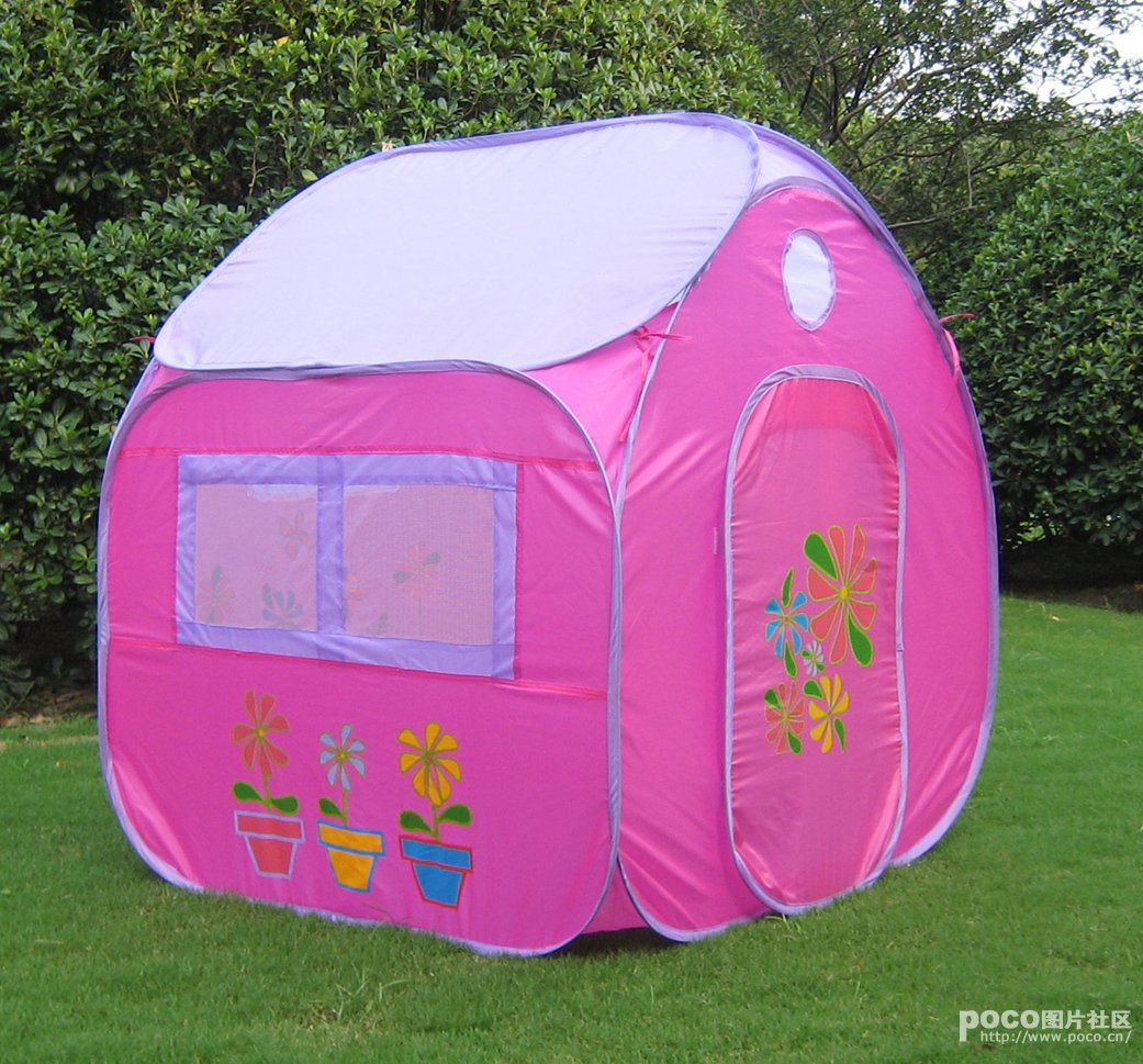 Pink Children Pop Up Tent Play House 4 X 3.45 X 3.45 Feet Lightweight Portable & Pink Children Pop Up Tent Play House 4 X 3.45 X 3.45 Feet ...